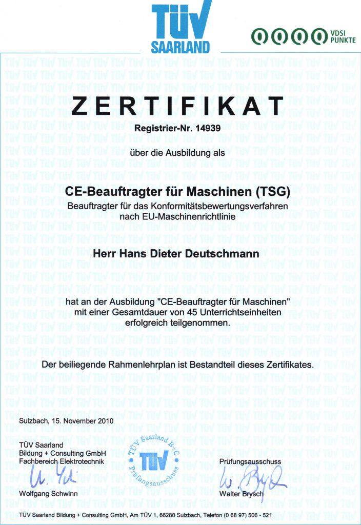 CE-Beauftragter